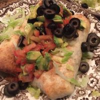 Baked Bean Burritos